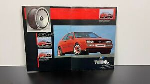 RARE Vintage Original 80s ZENDER TURBO 2 WHEELS Automobile Dealer Sales BROCHURE