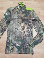 NWT UNDER ARMOUR UA REALTREE SCENT CONTROL EVO MOCK LS HUNTING SM $75