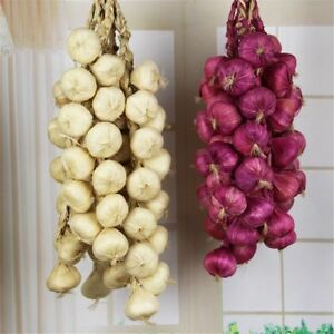 Photography Props Artificial Garlic Onion Vegetables House Party Kitchen Decor