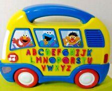 Fisher Price Sesame Street Alphabet School Bus Learning, ABC's, Music K9897