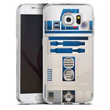 Samsung Galaxy S6 Silikon Hülle Case - R2D2 Closeup