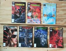 Terminator (Now): The Burning Earth #1-5 and All My Futures Past #1-2, 2 complet