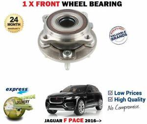 FOR JAGUAR F PACE 2.0D 3.0 3.0D AWD MODELS 2016-> NEW 1X FRONT WHEEL BEARING KIT