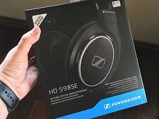 Sennheiser HD 598 SE Headphones Black Special Edition w/ Bonus Mic Vol Cable