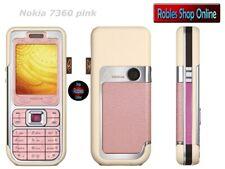 Nokia 7360 poeder pink (Sans Simlock) 3 bande radio mp3 d'origine Finland Top