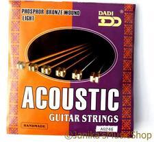 Nuevo Dadi Pro Light Guitarra Acústica Cuerdas 10-48 ag246