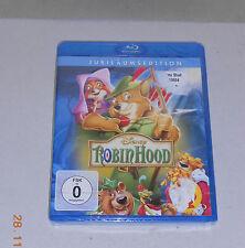 Blu Ray Disney Robin Hood  Jubiläumsedition  2013  Neu in Folie