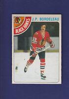 J.P. Bordeleau 1978-79 O-PEE-CHEE OPC Hockey #101 (NM) Chicago Blackhawks
