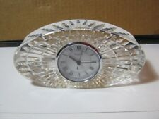 Waterford Crystal Quartz Mantel Clock    T*