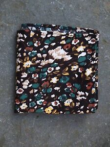 Woodland Pocket Square by Tails and the Unexpected 35cm x 35cm