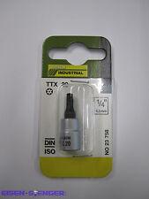 PROXXON 1/4'' TX-Einsatz T 20 mit Stirnbohrung No 23758