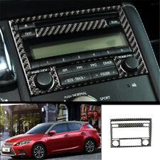 For Lexus CT200h 2011-2017 Carbon Fiber  Volume Switch Button Panel Cover Trim