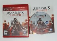 Cib Assassin's Creed II Greatest Hits (Sony PlayStation 3, 2009) ps3 Complete