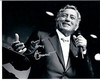 "Tony Bennett Autograph 8""x10"" Signed Photo"