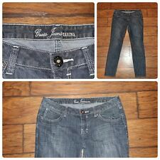 GUESS JEANS Marina fit denim jeans size 32 gray wash straight leg