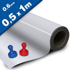 Meterware Eisenfolie Ferrofolie selbstklebend roh braun 0,4mm x 0,62m x 1m