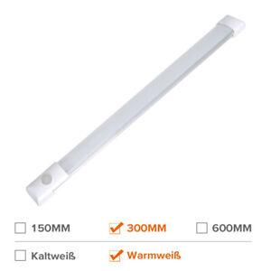 12v LED Lichtleiste Warmweiß Wohnwagen Küche Schrank Deckenlampe Fluor Schalter