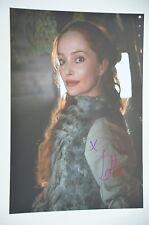 Lotte Verbeek signed 20x30cm Outlander Foto Autogramm / Autograph in Person ..