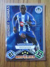 Match Attax 2009/10 i-card - Hendry Thomas of Wigan Athletic
