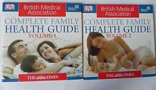BRITISH MEDICAL ASSOCIATION COMPPLETE FAMILY HEATH GUIDE VOL 1 & 2 CD ROM