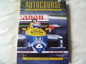 RARE Autocourse Annual : 1987-1988 (Hardback)