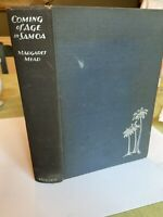 1930 Coming Of Age In Samoa:A Psychological Study Of Primitive Youth Western Civ