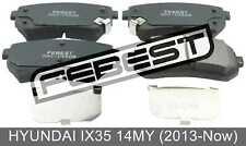 Pad Kit, Disc Brake, Rear - Kit For Hyundai Ix35 14My (2013-Now)