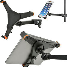 "8.9"" To 10.4 Inch Adjustable Tablet Clamp Stand–Tilt Swivel Bracket iPad-Pole 28"