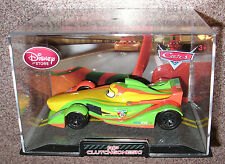 DISNEY PIXAR CARS 2 Rip Cluchgoneski Die Cast  W/ CASE  DISNEY STORE EXCLUSIVE