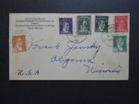 Turkey 1955 Commercial Cover to USA / Light Fold - Z8671