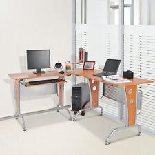 Eck-Computertisch Eckschreibtisch Bürotisch PC Tisch Schreibtisch Holz