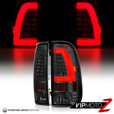 "[Plug&Play] Smoke ""OLED TUBE"" Tail Lights SET For 1997-2003 Ford F150 Superduty"