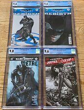 DC Comics CGC Lot: Batman Rebirth, Metal, Suicide Squad