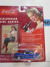 JOHNNY LIGHTNING COCA COLA CALENDAR GIRL SERIES '49 MERCURY #3