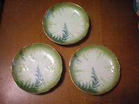 Vintage Saucers Set of 3 Marked R C
