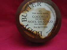 The Body Shop Coconut Body Butter 1.69 oz/NEW {{FREE SHIP}}
