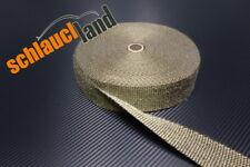 20m Titan Hitzeschutzband 50mm 1400°C *** Gewebeband Krümmer Schutz Hitze Rohr