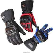 Motorcycle Racing Waterproof Windproof Winter keep Warm Leather Gloves Glove NEW