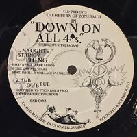 Zone Smut Down On All 4's NM electronic funk electro idm house techno