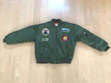 Top Gun Aviator Flight Jacket Size 8/10