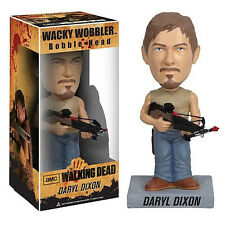 Walking Dead Daryl Dixon Wacky Wobbler Bobble Head Figure NEW Toys AMC Zombie