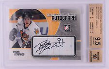2007-08 ITG Heroes & Prospects STEVEN STAMKOS Rookie Autograph BGS 9.5 w/10!