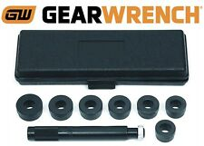 GearWrench 9 Piece Bushing Remover and Inserter Installer Set New Free Shipping