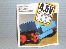 LEGO® Prospekt Alles über den Lego-Batteriemotor 4,5 V 97040-Ty B125