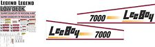 Leeboy 7000 Decal Kit-  Very high quality aftermarket decals