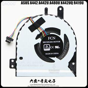ASUS X442 A442U A480U X442UQ X442URR R419U CPU COOLING FAN 13N1-2JP0301