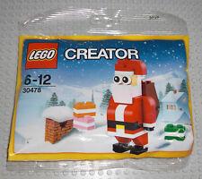 LEGO 30478 - Weihnachtsmann Santa Claus - Advent Weihnachten Nikolaus Polybag