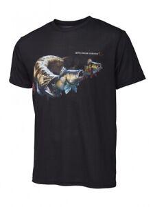 Savage Gear Cannibal T-Shirt Black S-XXL atmungsaktiv Barsch Zander Hecht Motiv
