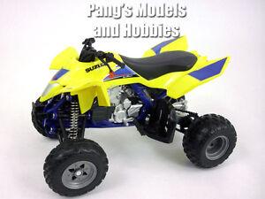 Suzuki Quadracer R450 ATV (Quad Bike) 1/12 Scale Diecast Metal and Plastic Model