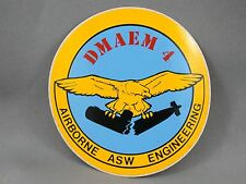 DMAEM 4 Airborne ASW Engineering Canadian Military Decal Arms Trade Show 1984